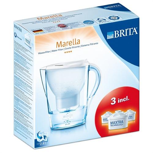 brita 040147 wasserfilter marella cool 3 filter kartuschen starterset. Black Bedroom Furniture Sets. Home Design Ideas