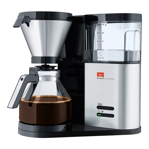 melitta aromaelegance schwarz kaffeemaschine mit glaskanne 4006508210305 ebay. Black Bedroom Furniture Sets. Home Design Ideas