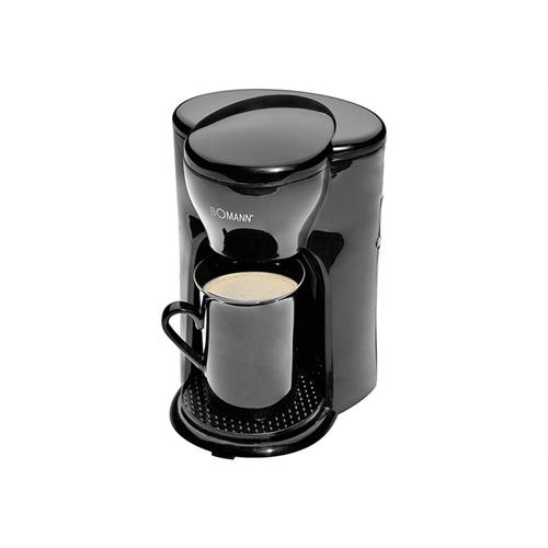 BOMANN 1-Tassen-Kaffeeautomat KA 201 CB schwarz