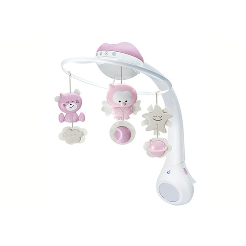 B kids 3 in 1 Musikmobile mit Traumlampe rosa